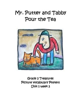 Mr. Putter and Tabby Vocabulary Posters