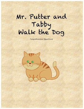 Mr. Putter and Tabby Walk the Dog comprehension Questions