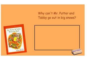 Mr. Putter and Tabby Write the Book SmartBoard Comprehension file