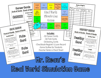 Mr. Reau's Real World Simulation Game