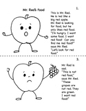 Mr Red's Food a Bilingual Story in English & Spanish with