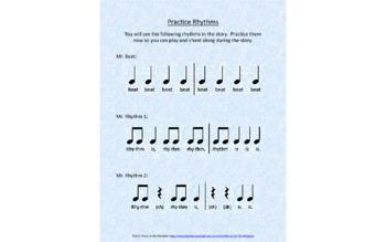 Mr. Rhythm and Mr. Beat, A Music Fundamentals Story ebook