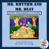 Mr. Rhythm and Mr. Beat, A Music Fundamentals Story ebook Distance Learning
