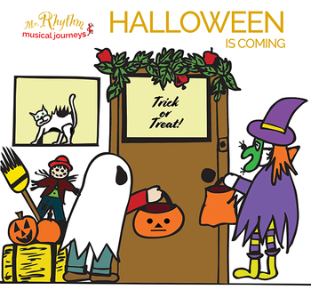 Halloween is Coming Musical Play  (full set)