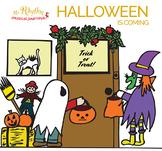 Halloween is Coming Preschool and Kindergarten Play, Music