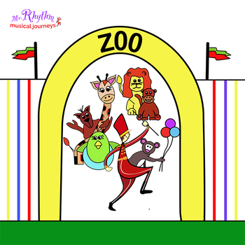 Mr. Rhythm's Zoo Holiday Children's Musical Play
