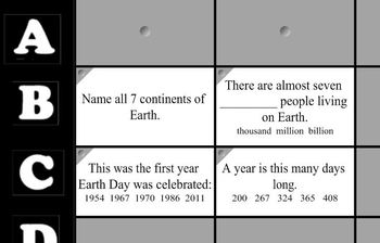 Mr Rob's Earth Day Game