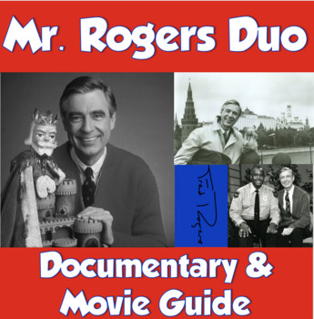Mr Rogers Duo Movie Guide And Documentary Worksheet Tpt