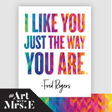 Mr. Rogers Quote | Classroom Visual