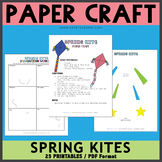 Spring Kites Paper Craft
