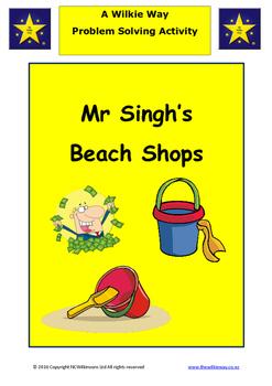 Mr Singhs Beach Shop Problem