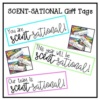 Mr. Sketch Gift Tag- Scent-sational