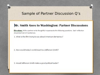 Mr. Smith Goes to Washington Lesson Plan Pack