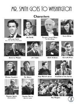 Mr. Smith Goes to Washington Movie Character List