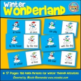 Dolch Sight Word Practice Winter Themed Cards