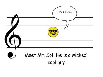 Mr. Sol and Mr. Mi: a Musical Tale