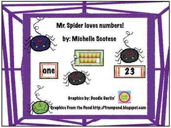 Mr. Spider loves numbers!