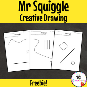 Mr Squiggle - Creative Drawing Activity