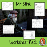 Mr Stink Book Study Worksheet Pack