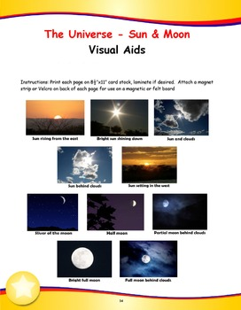 Mr. Sun, Mr. Moon Song (Mp3) with Lesson Materials, Visuals and Activities