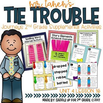 Mr. Tanen's Tie Trouble Supplemental Activities