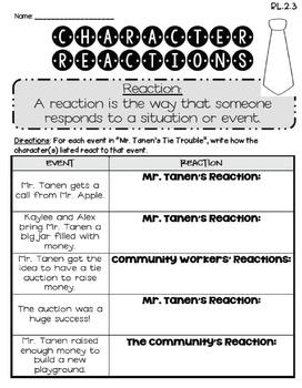 Mr. Tanen's Tie Trouble (Journeys 2nd Grade - Supplemental Materials)