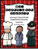 Mr. Tanen's Tie Trouble Journey's Activities - Second Grade Lesson 16