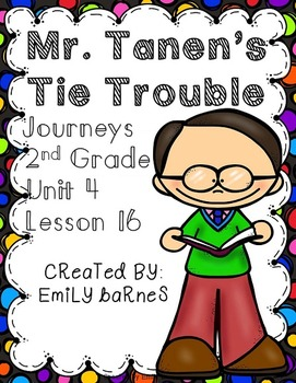 Mr. Tanen's Tie Trouble Supplement Materials Journeys 2nd Grade