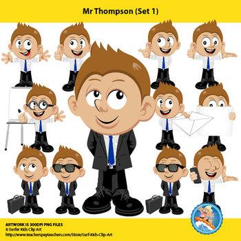 Mr Thompson (Set 1) - Teacher