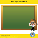 Freebie : Mr Thompson's Blackboard