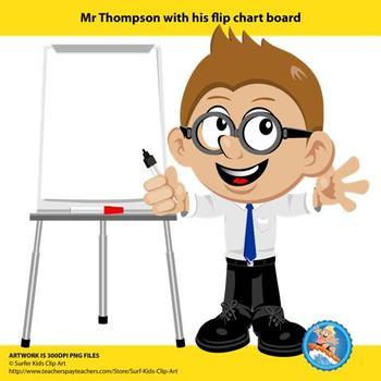 Freebie : Mr Thompson's Flipchart Board