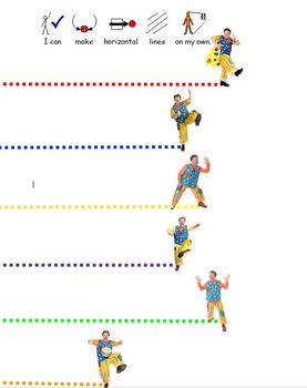 Mr Tumble, Something Special Writing Pencil Control Activity Worksheet