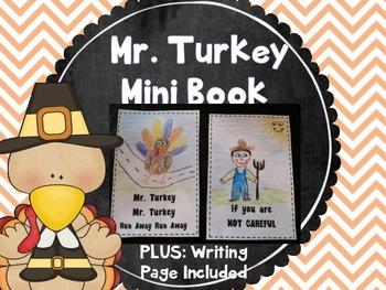 Mr. Turkey Mini Book