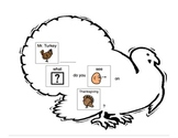 Mr. Turkey What do you see? Adaptive Book for Autism and S