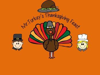 Mr. Turkey's Feast Activity