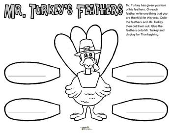 Mr. Turkey's Feathers