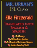 Mr. Urban's ESL Class: Ella Fitzgerald - Passage & Questio