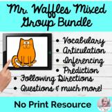 Mr. Waffles 4-Set Language Bundle NO PRINT Language Digita