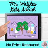 Mr. Waffles Gets Social A Lesson in Pragmatic Language NO