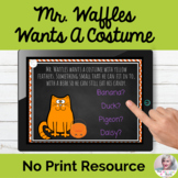 Mr. Waffles Wants A Costume Inferencing Activity Telethera