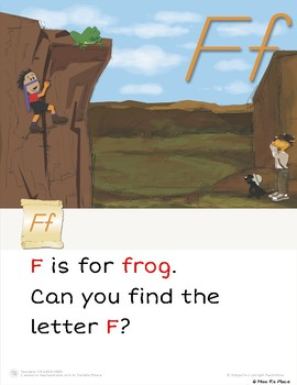 "Mr. Wee and Boo Series: Letter of the Week ""Ff"""