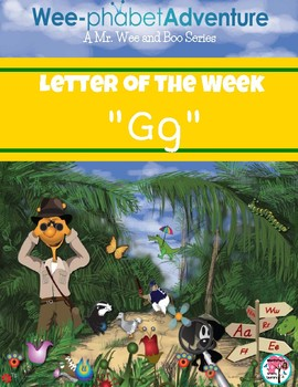 "Mr. Wee and Boo Series: Letter of the Week ""Gg"""