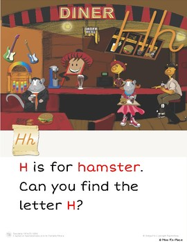 "Mr. Wee and Boo Series: Letter of the Week ""Hh"""