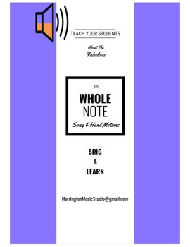 Mr. Whole Note