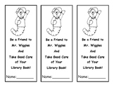 Mr. Wiggles Bookmark