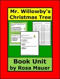 Mr. Willowby's Christmas Tree Book Unit