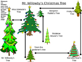 Mr. Willowby's Christmas Treee - measuring activity -  2nd grade