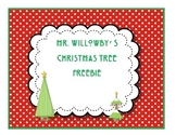 Mr. Willowby's Christmas Tree FREE