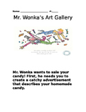 Mr. Wonka's Advertisement Art Gallery