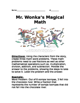 Mr. Wonka's Magical Math